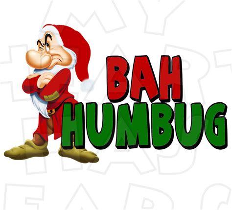 Bah Humbug Clipart grumpy bah humbug instant digital
