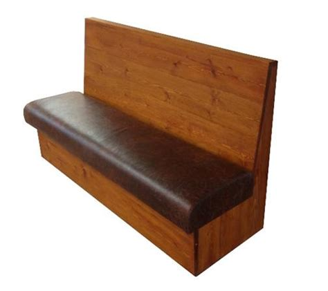 Wood Banquette by Wooden Back Banquette Seating Bench Seating Bespoke