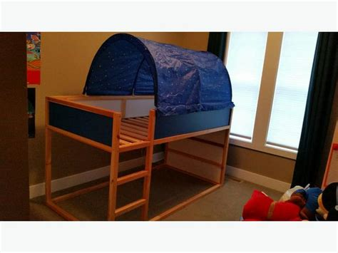 Bunk Bed Canopy Ikea Reversible Loft Bunk Bed With Canopy Maple Bay Cowichan
