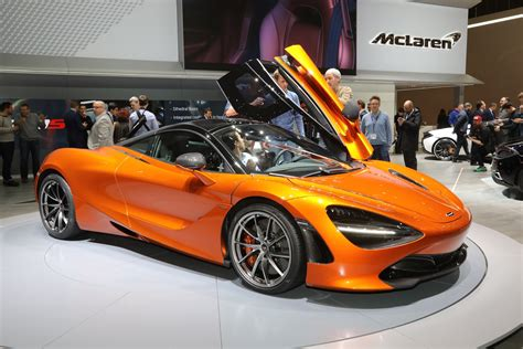 orange mclaren 720s mclaren 720s production begins motor trend