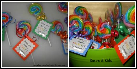list of gifts to school children end of school year gifts bacon