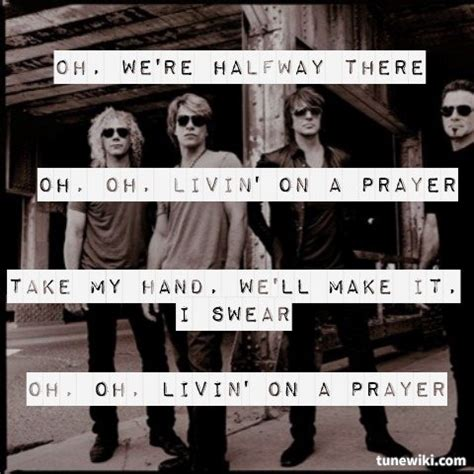 bon jovi livin on a prayer quot livin on a prayer quot by bon jovi lyrical quality pinterest