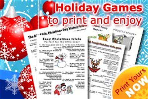 printable christmas games for middle school fun christmas games for kids