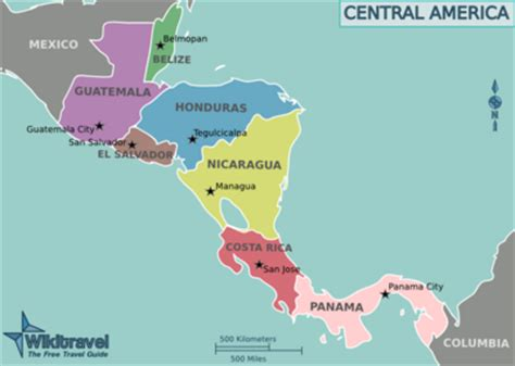 central america map with states and capitals bryce ladieseastern conference candymike