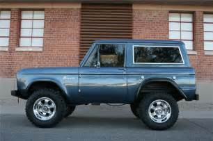 bronco colors 1966 ford bronco custom suv 139019