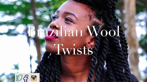 pi tures of hairstlyes made with baby wool how to brazilian wool twists youtube