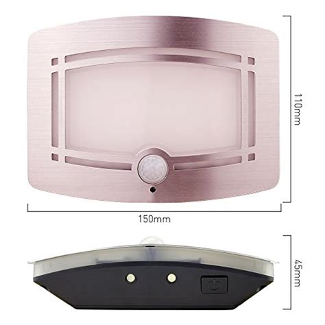 Wireless Wall Light Fixtures Zitrades Light Wireless Motion Sensor Nightlights Activated Led Wall Sconce Lighting With