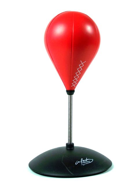 punchingball schreibtisch b 252 ro punching 33 cm box birne mit sound saugn 228 pfe