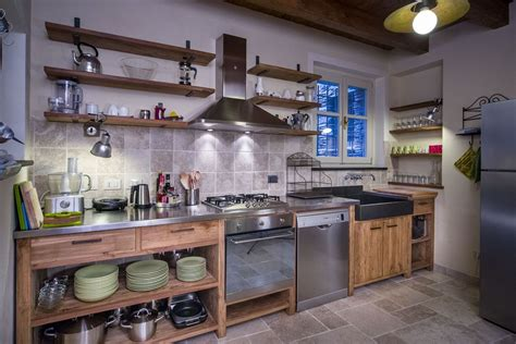 Cucina E Legno by Cucine Acciaio E Legno Cerca Con Cucina