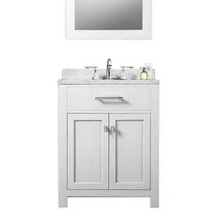 white sink bathroom vanity water creation 24 quot solid white traditional single