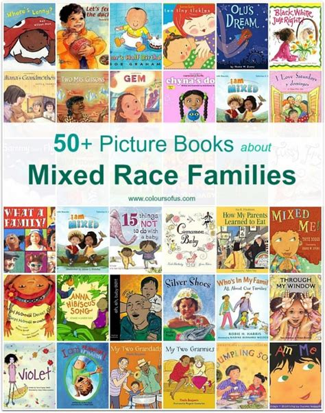 50 Picture Books About Mixed Race Families