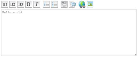 js layout editor introducing griffin editor a jquery textarea plugin