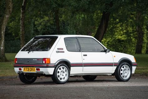 Peugeot 205 Gti peugeot 205 gti raises eyebrows at silverstone classic