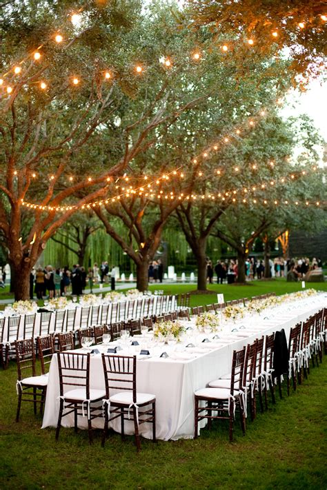 Dallas Wedding Nasher Sculpture Garden Outdoor Lighting For Weddings