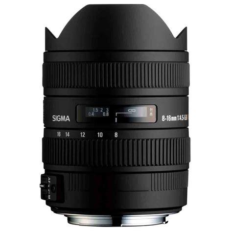 Sigma 8 16mm F by Objektiv Sigma 8 16 Mm F 4 5 5 6 Dc Hsm Za Canon
