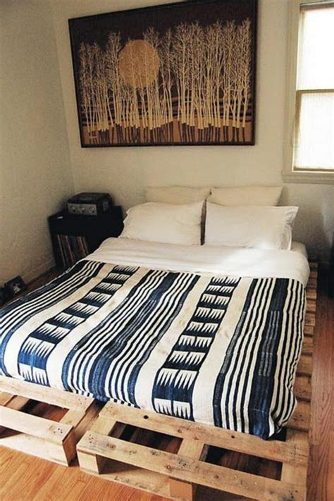 diy pallet bed 60 diy furniture from euro pallets amazing craft ideas