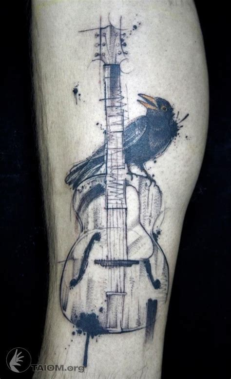 guitar tattoo 1000 ideas about guitar on guitar