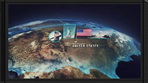 3d Interactive Earth Globe After Effects Ae Template Videohive 19581834 Youtube 3d Globe After Effects Template