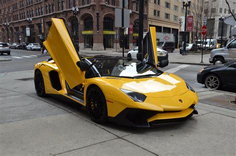 gold lamborghini aventador lp 750 4 sv roadster 2017 lamborghini aventador lp 750 4 sv roadster stock 06016 for sale near chicago il il