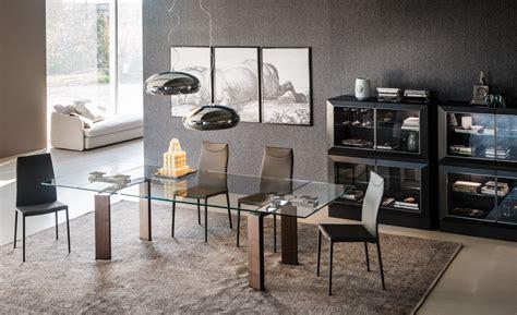 tavoli in cristallo allungabili cattelan daytona by cattelan italia design studio kronos