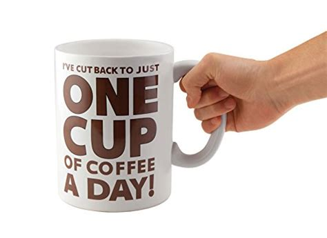Cuppa Coffee Inc bigmouth inc one cup of coffee mug gourmet