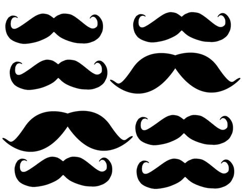 Mustache Print Out Template by Free Coloring Pages Of Mustaches