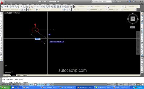 commands in how to use line command in autocad