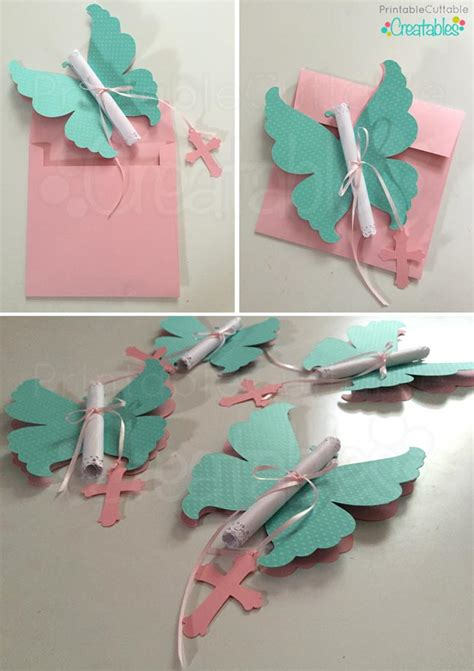 Paper Diy Place Card Holder Butterfly Template by Diy Butterfly Invitations Tutorial Svg Cutting Files