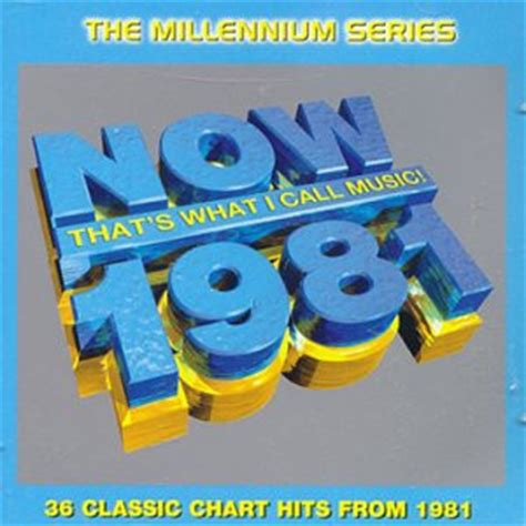 Cdvcd Now Thats What I Call Vol2 Imported now that s what i call 1981 the millennium series
