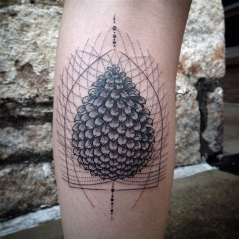 pine cone tattoo 30 pine cone designs amazing ideas