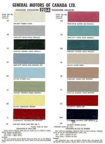 gm color codes 1964 chevelle paint codes