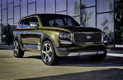 suv kia kia telluride concept revealed possible large suv above