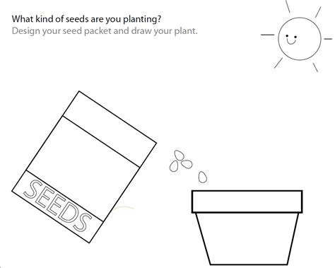 Seed Worksheets For Kindergarten by Plant Parts Worksheets For Kindergarten Leaning Parts Of