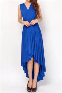 Plus Size Infinity Dress Cobalt High Low Convertible Dress Plus Size Bridesmaid