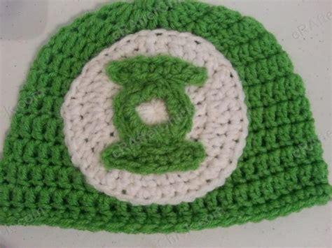 crochet pattern logos green lantern superhero logo beanie hat crochet pattern