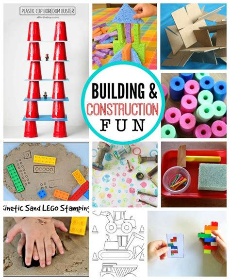 construction crafts for with building and construction awesome summer