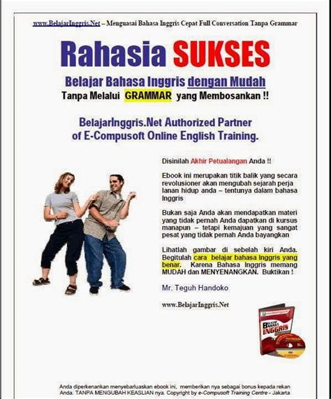 belajar bahasa inggris cepat tanpa grammar 1 ebook gratis rahasia sukses belajar bahasa inggris dengan