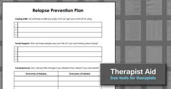 mental health relapse prevention plan template relapse prevention plan version 2 worksheet