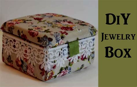 how to make your own jewelry box a beautiful diy jewelry box the budget diet