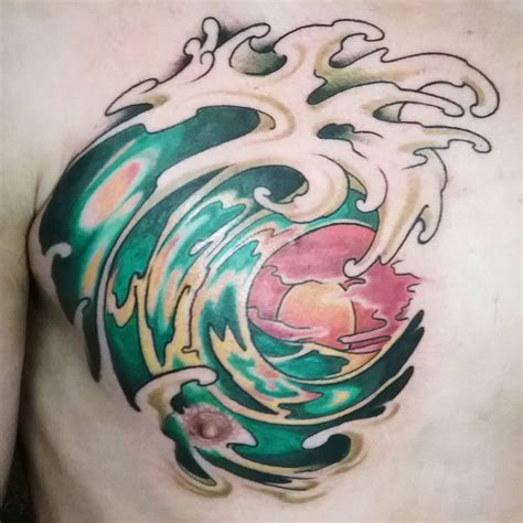 ocean tattoo ideas 70 stunning ideas show your for the sea