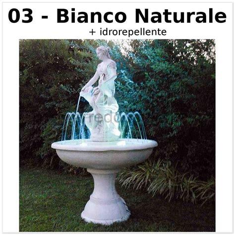 fontana per giardino fontana da giardino barcellona cm102x102x178h nei vari
