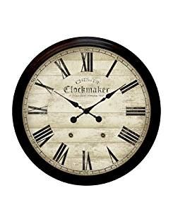 wall clock amazon co uk kitchen home infinity instruments chester clockmaker large metal wall