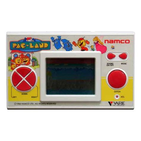 namco console prop hire namco pac land 80 s held console