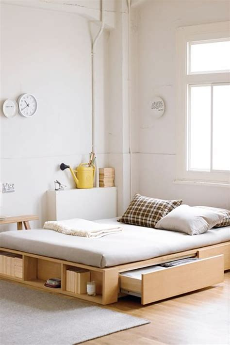Easy Bedroom Storage Clever Bed Designs With Integrated Storage For Max Efficiency