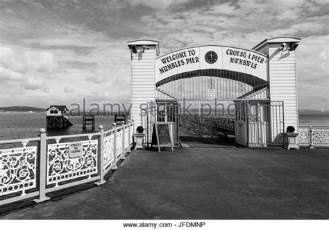Mumbles Black and White Stock Photos & Images   Alamy