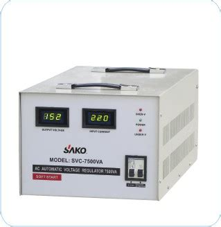 Firman Stabilizer Svc 1000va svc single phase servo motor type automatic voltage