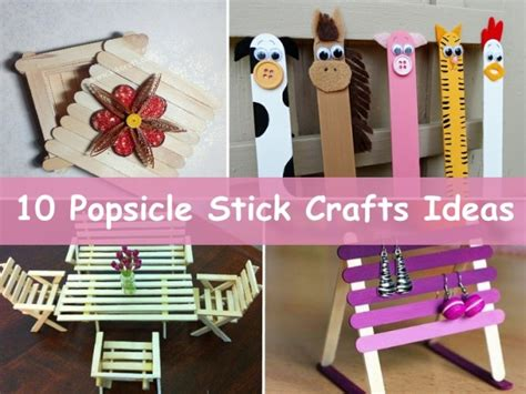 craft stick project ideas 10 easy popsicle stick crafts ideas k4 craft