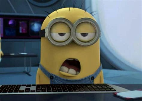 Sleepy Face Meme - sleepy minion blank template imgflip