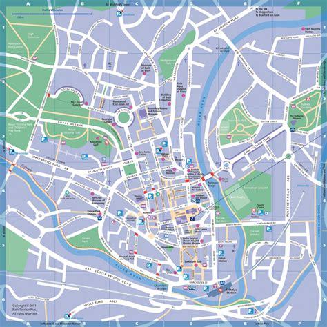 map bathrooms map of bath england
