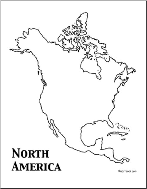 coloring page map of north america north america theme unit worksheets printables